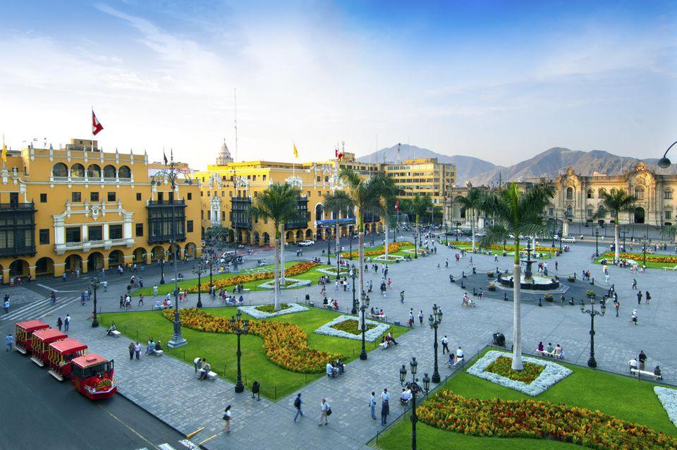 Lima, Peru The Plaza Armas