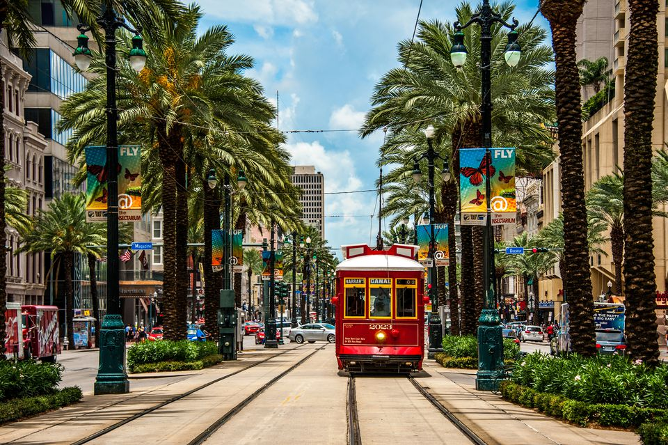 Streetcar in New Orleans