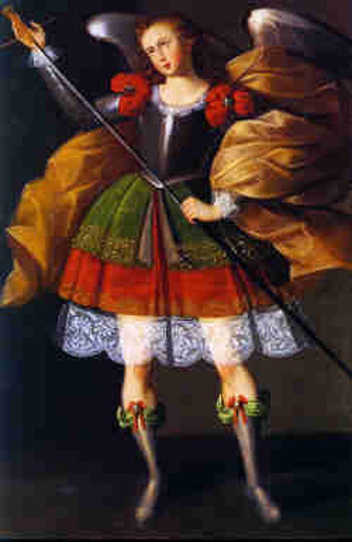 Maestro de Calamarca, Siglo XVII, óleo sobre tela 161 x 109,2 cm, Iglesia de Calamarca, La Paz, Bolivia