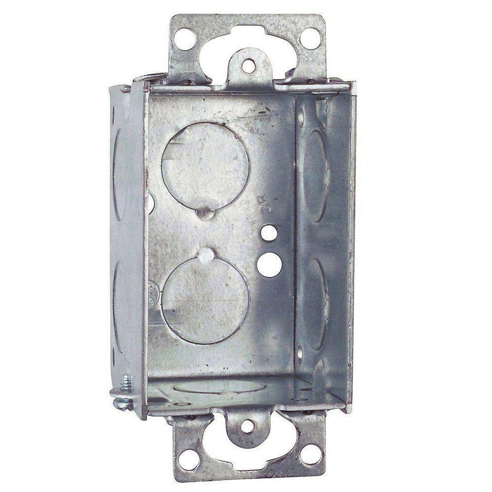 gangable electrical switch box