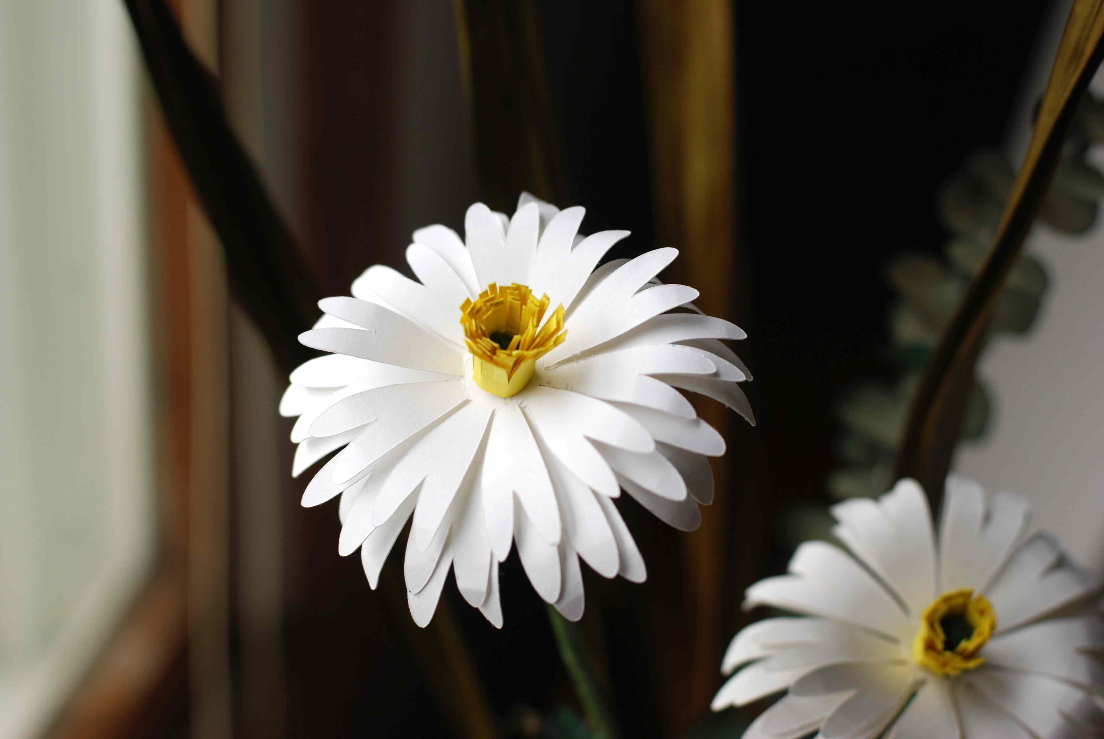 How to make a sweet paper daisy izmirmasajfo Gallery