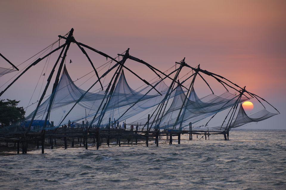 Chinese Fishing Nets, Kochi.
