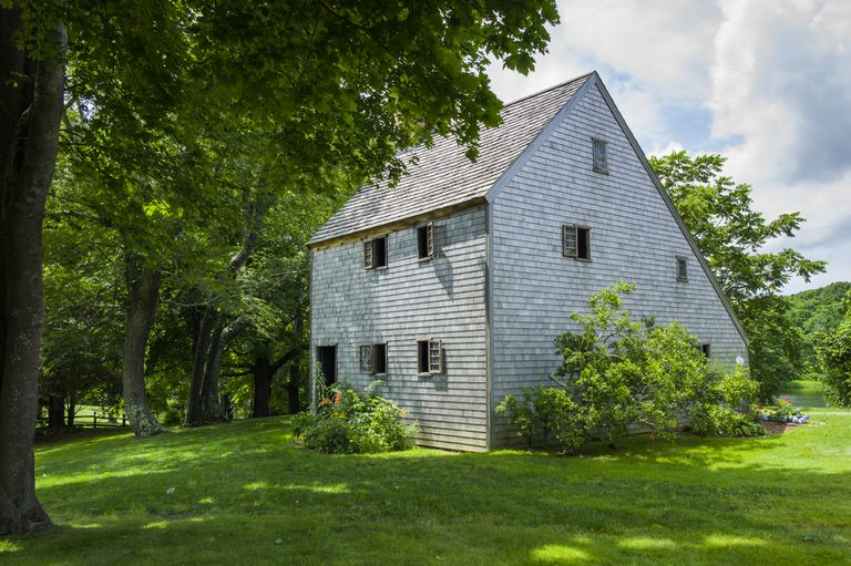 Hoxie House, c. 1675, in Sandwich, Massachusetts, on Cape Cod