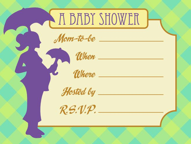 Sets Of Free Baby Shower Invitations You Can Print