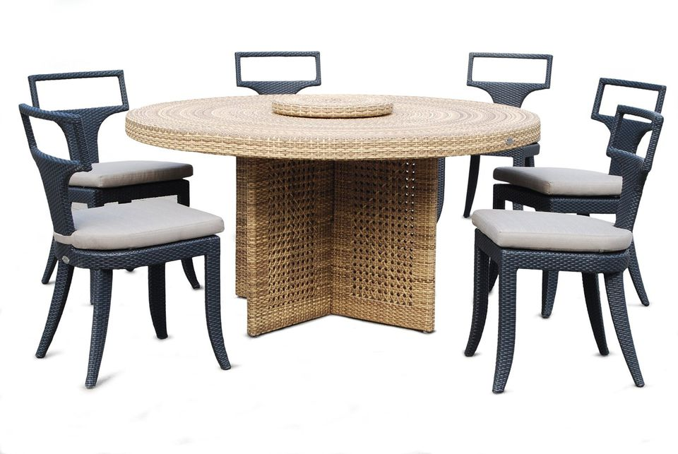 Dann Foley Rodeo Dining Chair with Cushion
