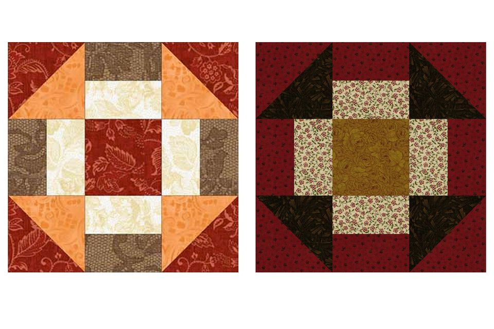 Grecian Square Quilt Blocks