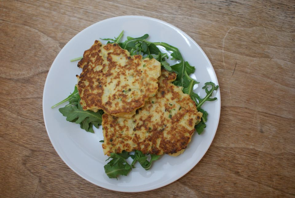 Easy Cauliflower Fritters