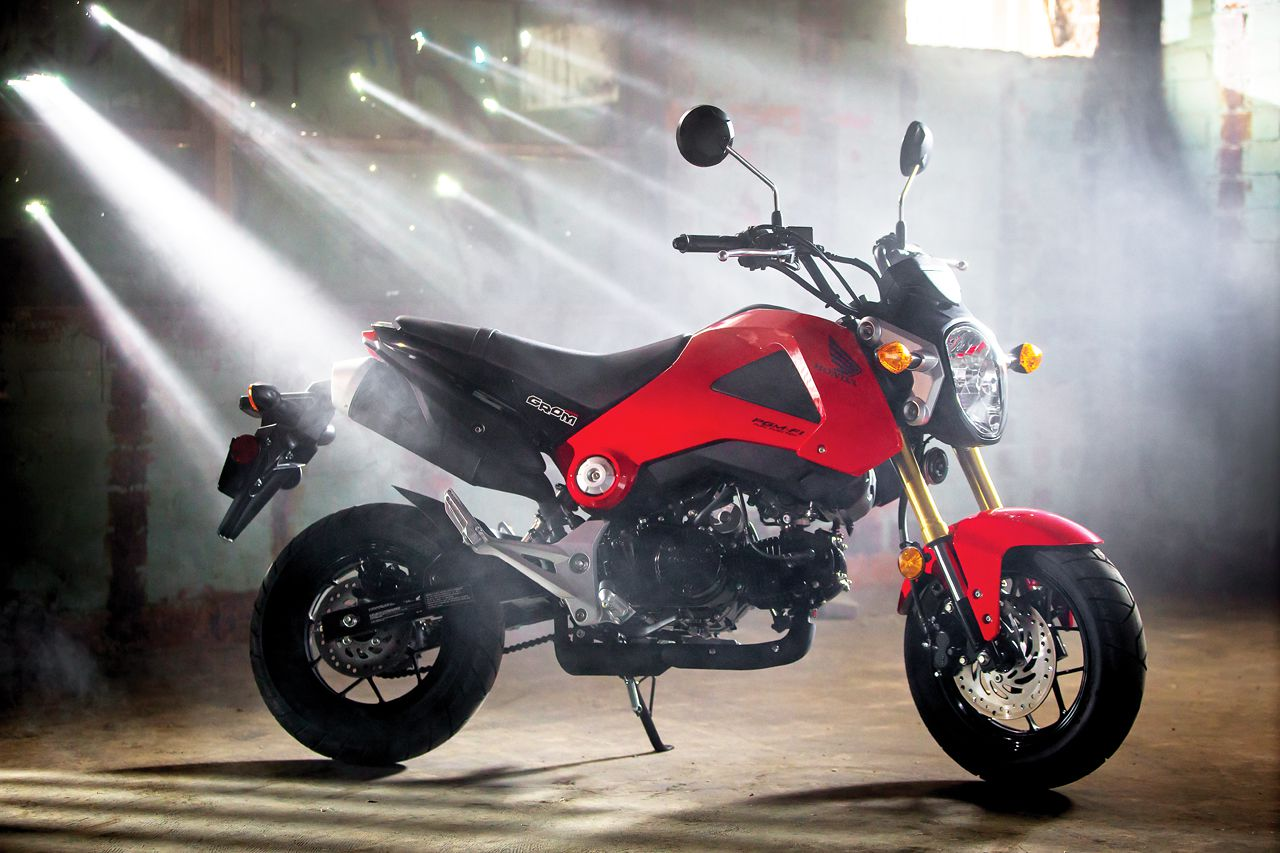 honda grom motorcycle review
