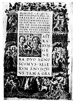 Page of Juvenal's Satires