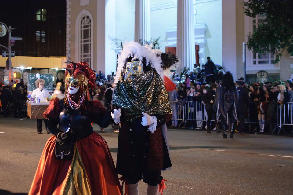 Greenwich Village's Halloween Parade.
