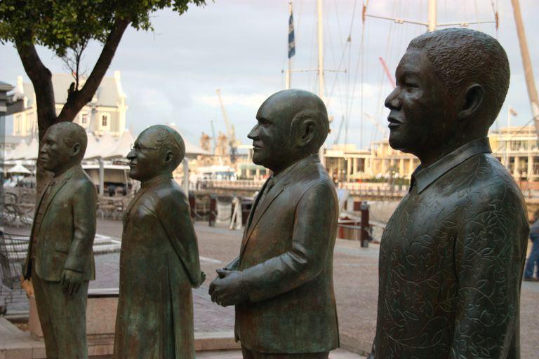 South Africa's 4 Nobel Peace Prize laureates