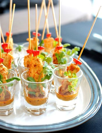 Chicken Satay Party Style