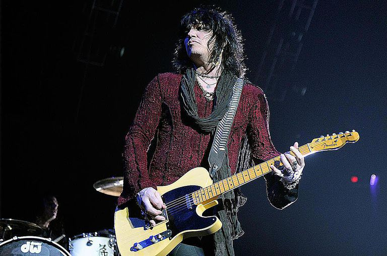 Cinderella frontman Tom Keifer performs at the Thomas & Mack Center August 3, 2010 in Las Vegas, Nevada.