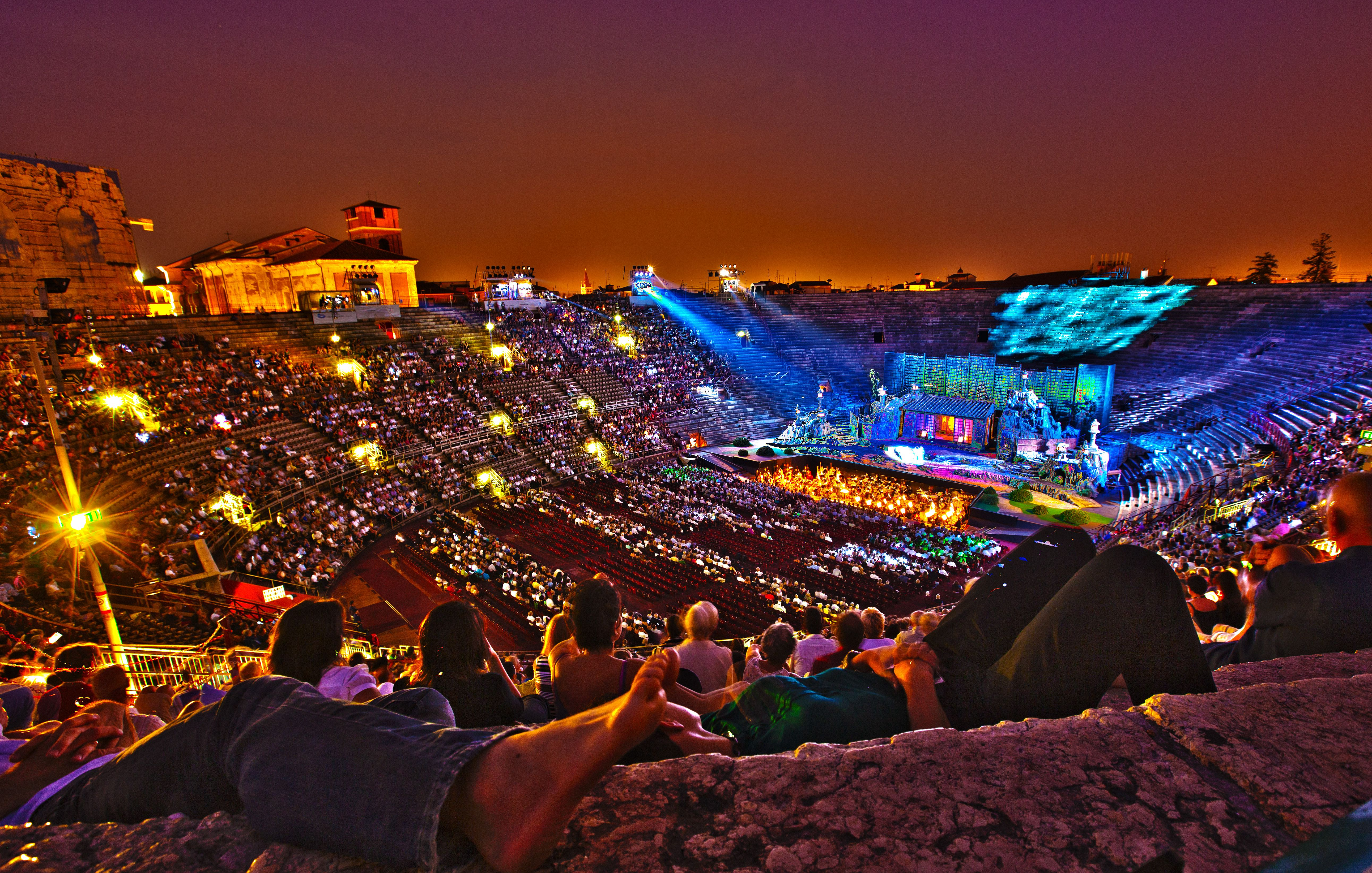 music italy festivals outdoor summer concerts verona auto places