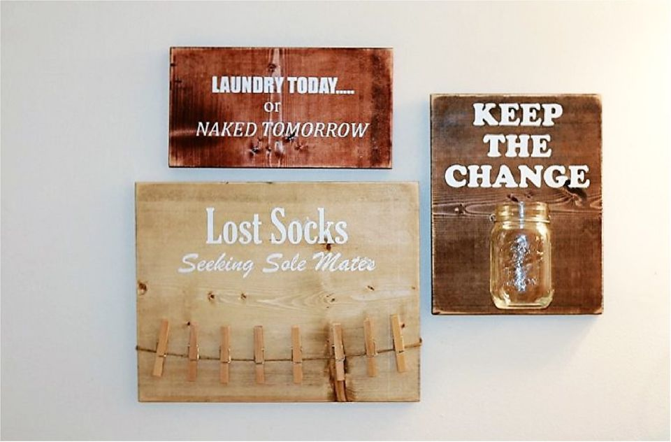 Rustic Signs BIG
