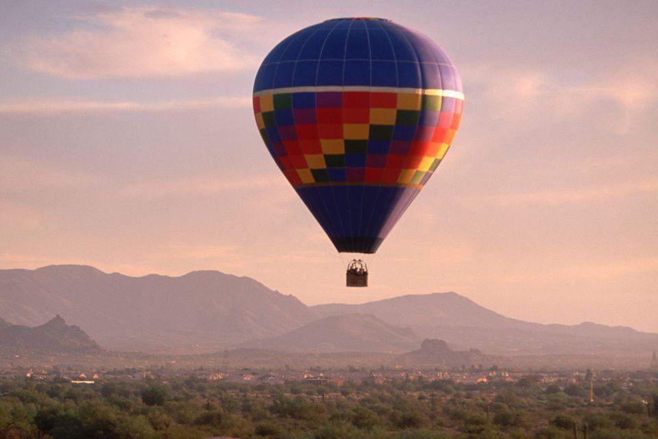 Phoenix hot air balloon