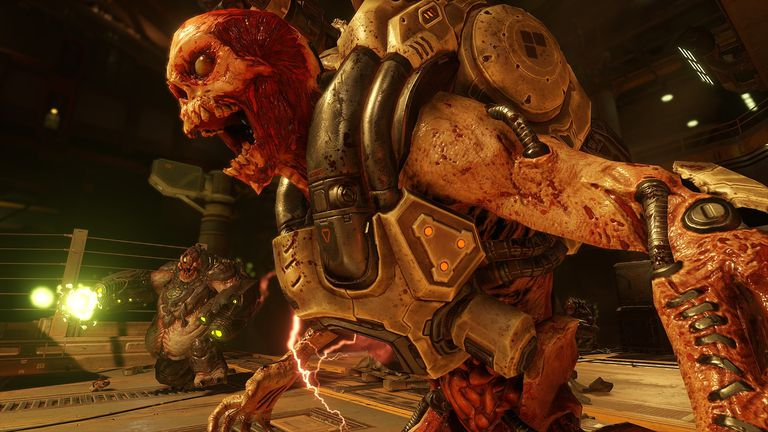 Screengrab from Doom