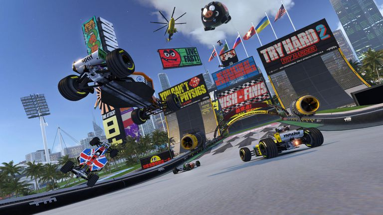 Trackmania Turbo screen