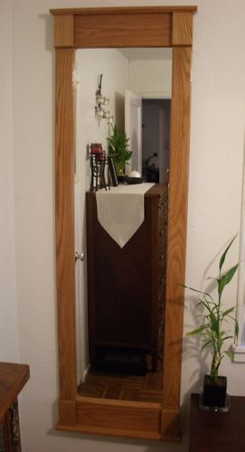 Tall Oak Mirror