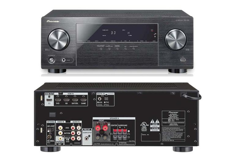 Pioneer VSX-530-K Home Theater Receiver