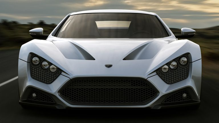 The SuperExclusive Zenvo ST Super Car - Car sign with namespaynos profile