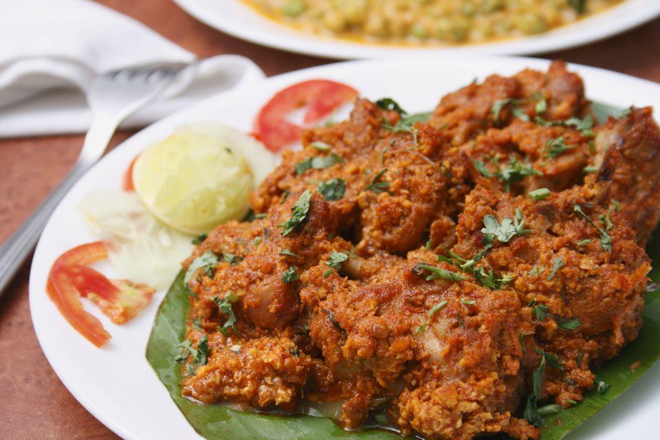 Chicken sukka – A preparation from Mangalore