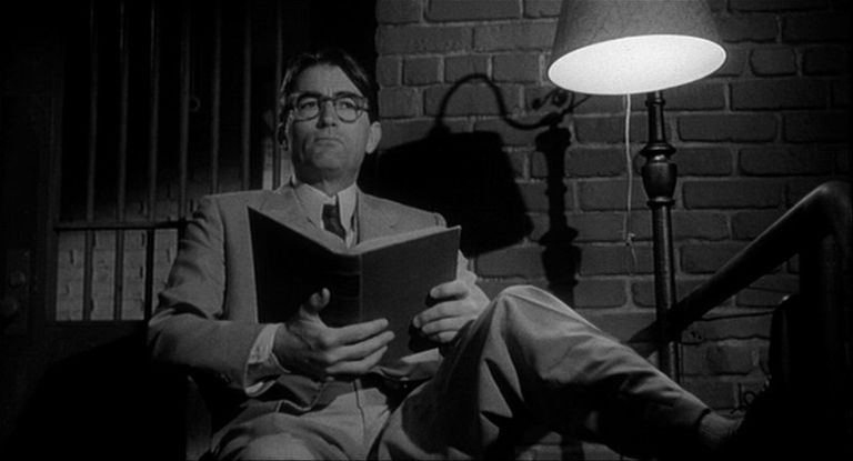 review of the movie to kill a mockingbird  atticus stands guard