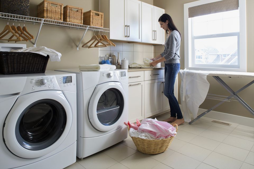 Laundry room placement in home design for How to add a laundry room to your house