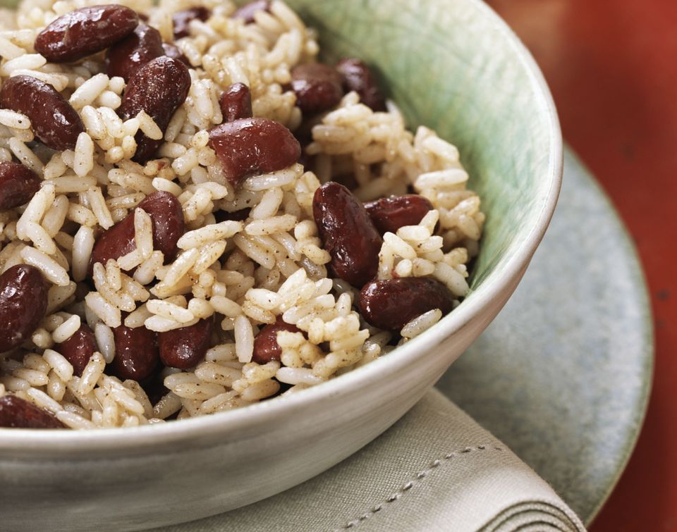 Vegetarian red beans and rice