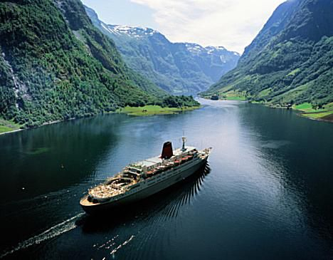 Naeroyfjord Fjord