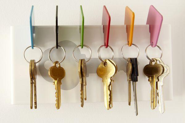6 sets of keys