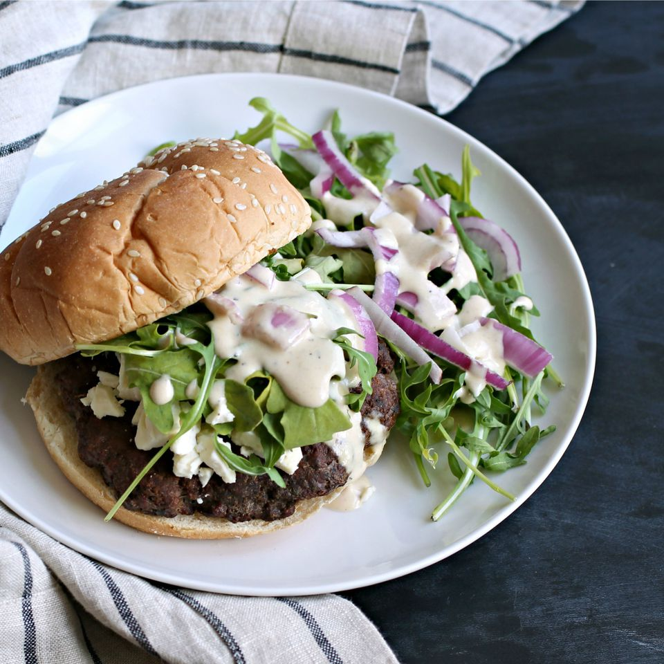 Middle Eastern Spiced Burger