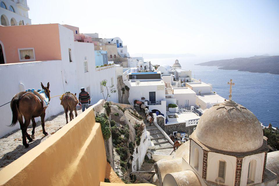 Greece, Santorini, Thira