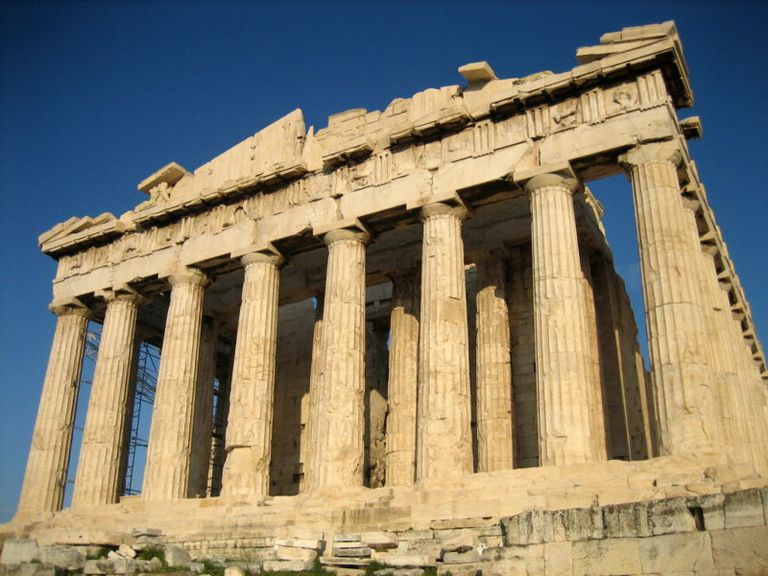 Parthenon from the West