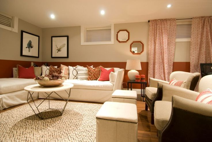 living room basement 10 reasons to decorate with color 10866