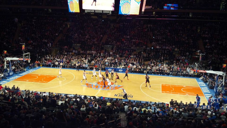 Madison square garden guide for a knicks game in new york for New york knicks madison square garden