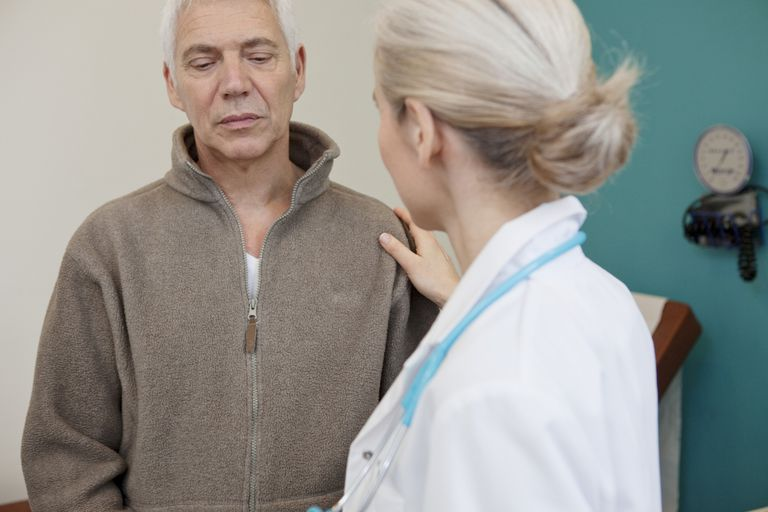 Patient doctor consulting, dialogue