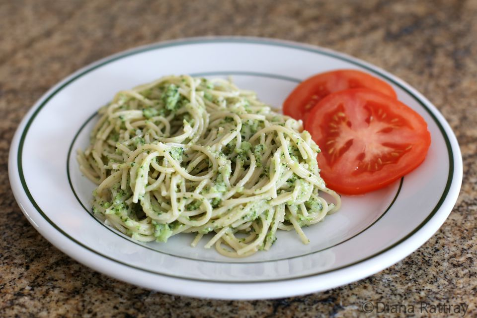 Creamy Broccoli Pasta With Parmesan Cheese