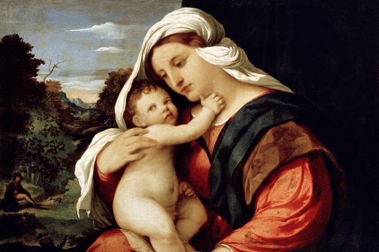 Virgin and Child, 1515-1516. Artist: Jacopo Palma il Vecchio