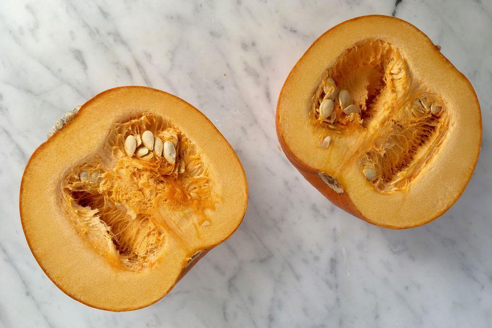 Halved Pumpkin