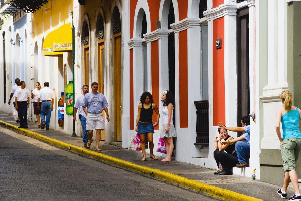 Old San Juan shopping