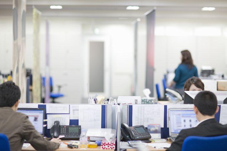 company cubicles