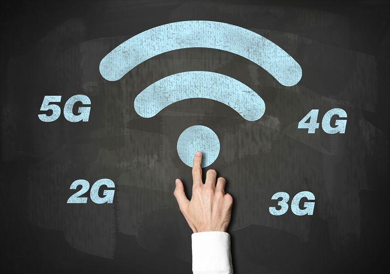 Wireless Technology / Blackboard concept