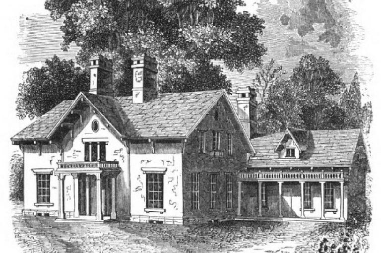 1847 Farmhouse Designed by Matilda W. Howard