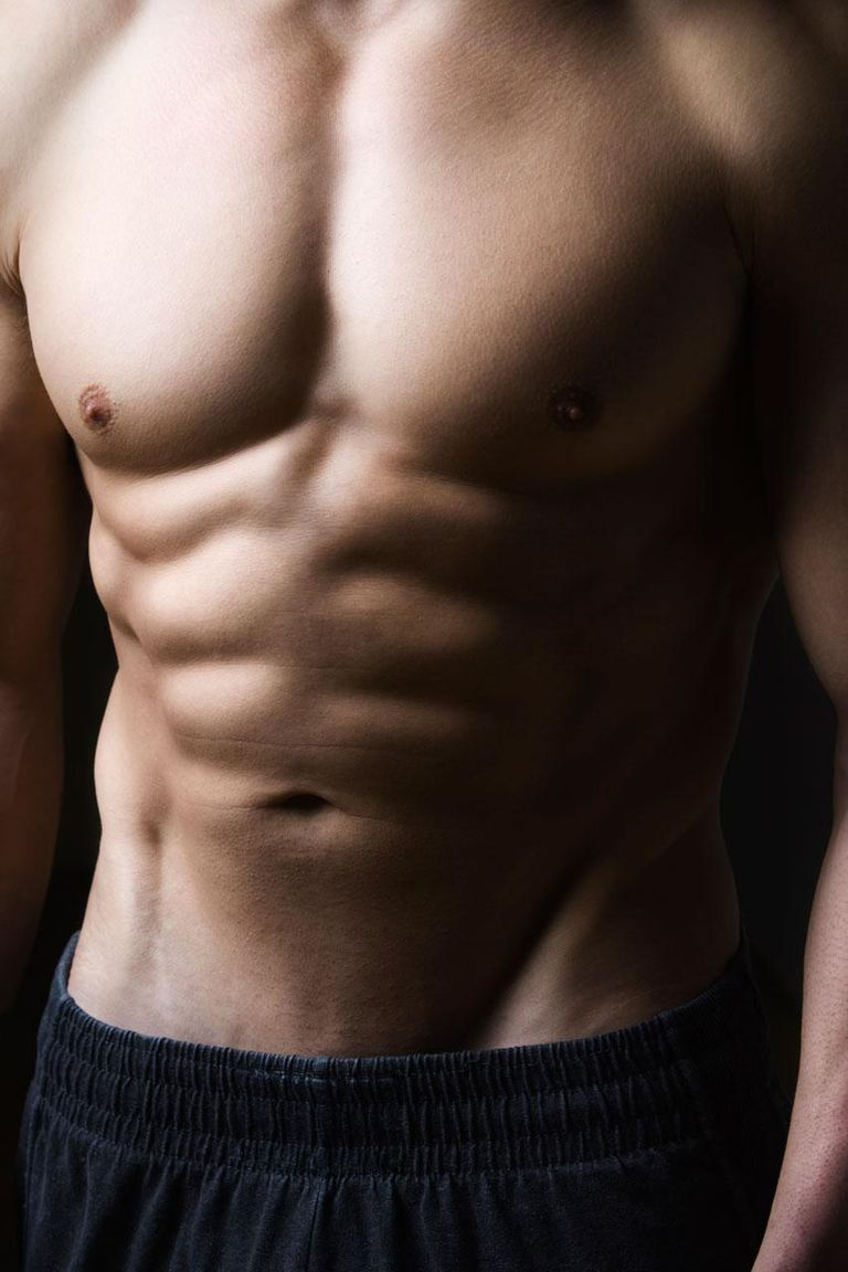 Close up of man's torso