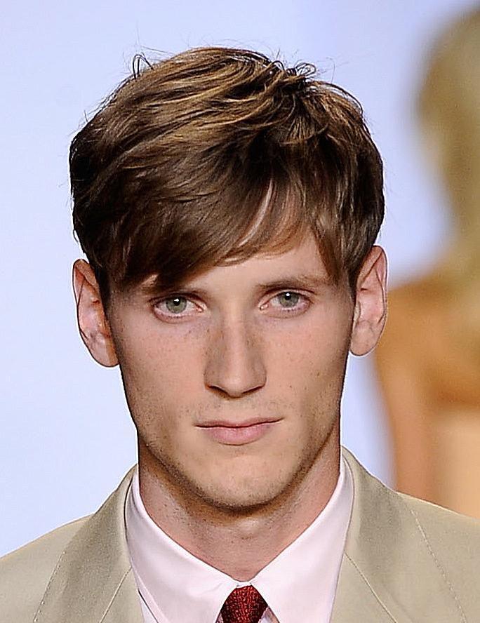 Long-On-Top Hairstyles for Men: Photos