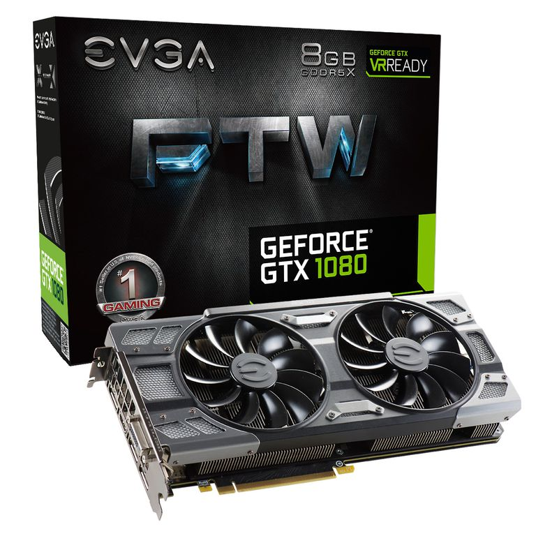 eVGA GeForce GTX 1080 8GB FTX Gaming ACX 3.0