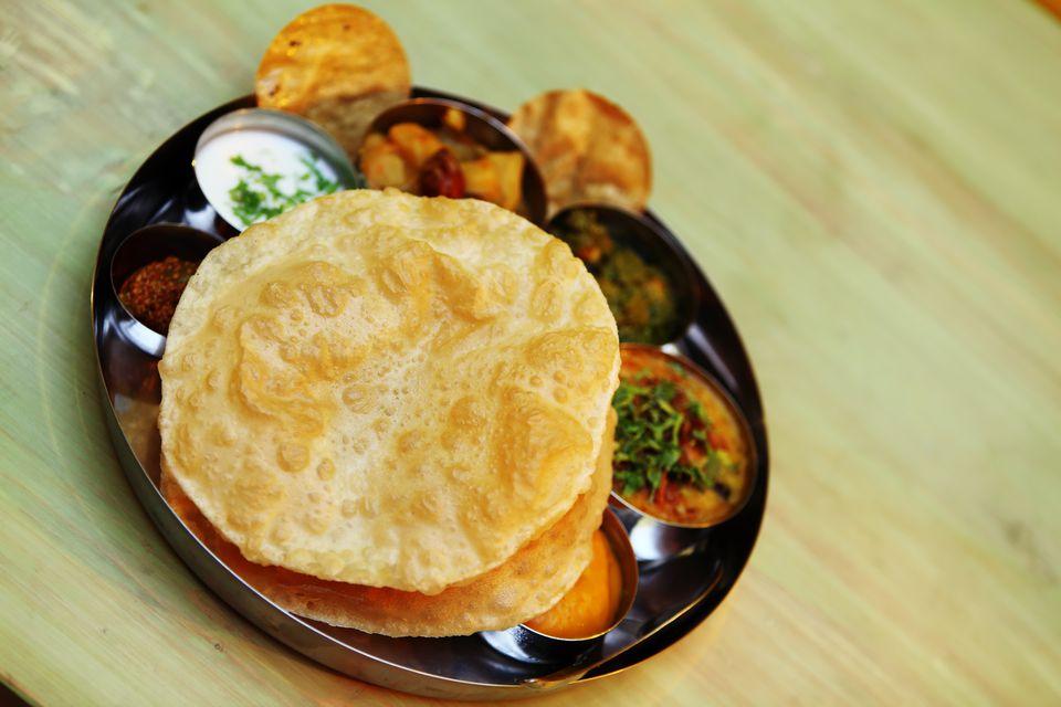 Thali Traditional Rajastani (Indian) Meal