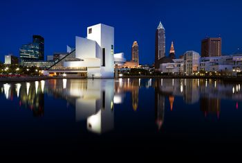 Get to know the neighborhoods and suburbs of cleveland night panorama of downtown cleveland ohio usa publicscrutiny Gallery