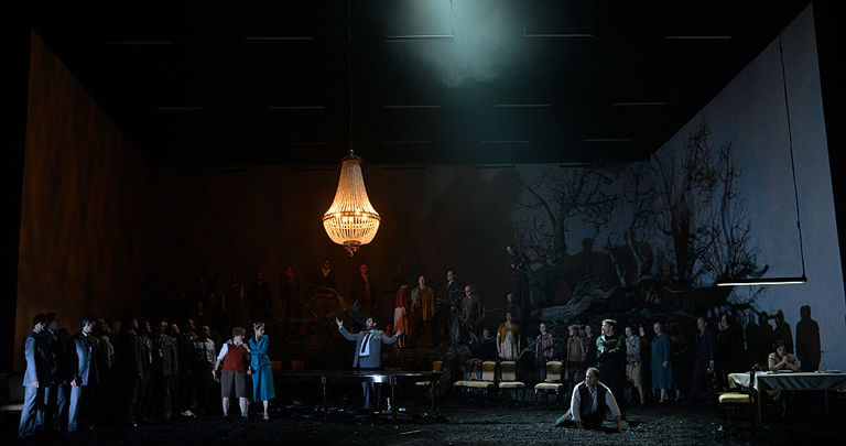UK -The Royal Opera's production of Gioachino Rossini's Guillaume Tell